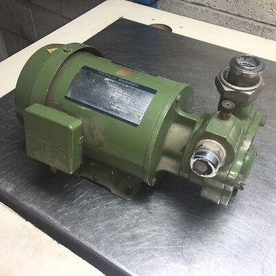 0.4 kW Toshiba Motor FCKLK8 & Nikuni Pump, 20HDK-04M, 220 V, Used, WARRANTY