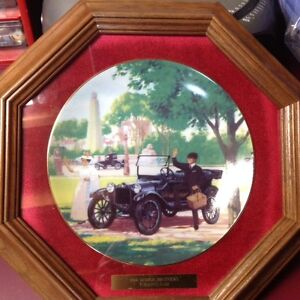 LIMITED EDITION COLLECTORS PLATE-1914 DODGE TOURING CAR Kitchener / Waterloo Kitchener Area image 2