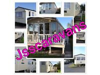 *** wow wow wow **** BARGAIN LATE DEALS FROM £99 A COLLECTION OF 14 LUXURY PRIVATE CARAVANS