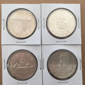 Buying 1967 and older Canadian Silver Dollars for $10. each