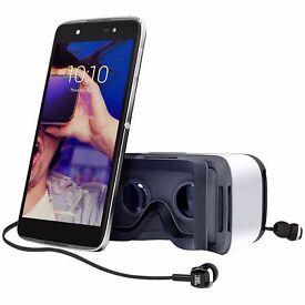 4G Alcatel Idol 4 (Includes VR Headset, JBL Earphones) - Octa Core, 3GB RAM (See Description)