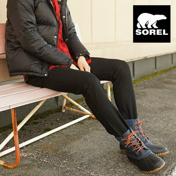 Sorel nm1704 cheyanne lace-up full grain leather snow boots