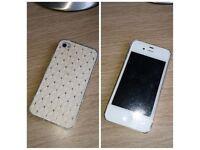 WHITE APPLE iPHONE 4S UNLOCKED (32GB)