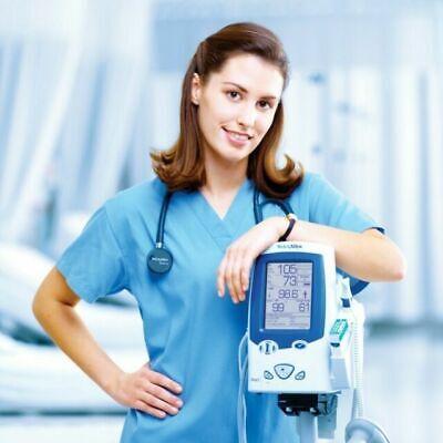 Newwelch Allyn Spot Vital Signs Lxi Patient Monitor 45nto-s1 Temp Probe
