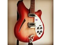 Rickenbacker 360 6-string Fireglo in immaculate condition