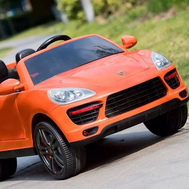 Porsche Cayenne 12v Kids Electric Ride On Car Remote Mp3 In