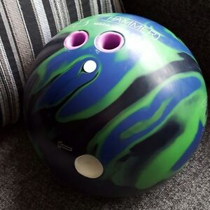 HAMMER Scandal Bowling Ball - 15 lbs -  LOW GAMES!