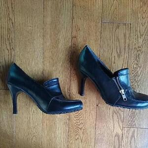 Brand New Black Spring Shoes, Size 36 Kitchener / Waterloo Kitchener Area image 1