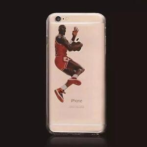 "iPhone 7 Case - Michael Jordan ""Foul Line Dunk"" Anime Series Bulls"