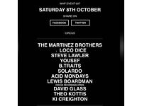 Warehouse Project (WHP) Oct 08, Loco Dice, Martinez Bros, Lawler x 2
