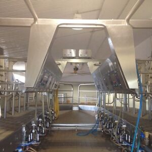 Boumatic Double 8 Stainless Milking Parlour