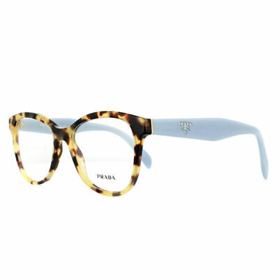 Authentic Prada Eyeglasses VPR12T 7S0-1O1 Medium Havana Frames Rx-ABLE 51MM
