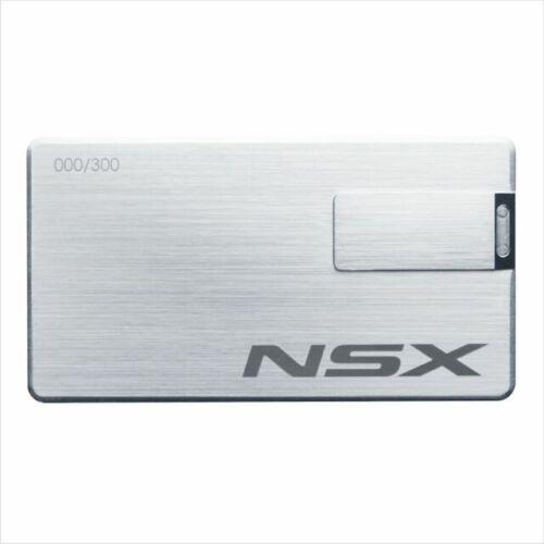 HONDA ACURA NSX USB  Japan Limited Electronic Brochure #215/300