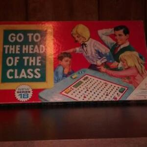 Go to the Head of the Class - Vintage Board Game