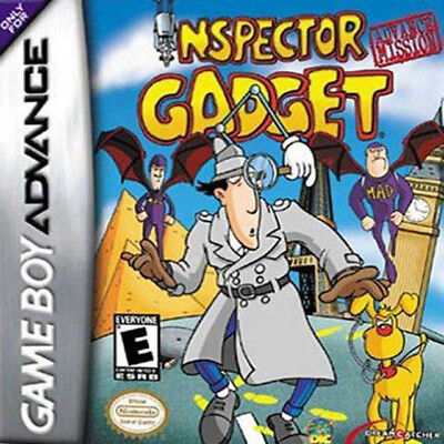 Nintendo Inspector Gadget Gba Game Boy Advance