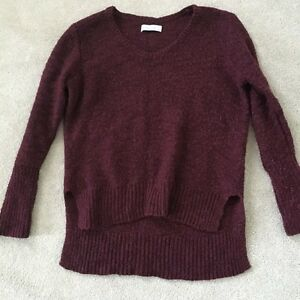 ABERCROMBIE & FITCH KNIT PULLOVER SWEATER