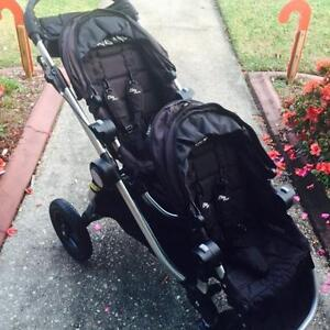 City Select Baby Jogger Double Stroller