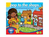 Pop to the Shops (Educational) Board Game by Orchard Toys