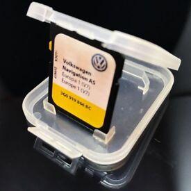 VW AS EUROPE V7 NAVIGATION SD CARD