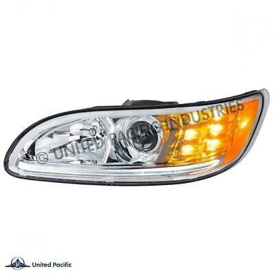 UPI Chrome Projection Headlight For 2008+ Peterbilt 382384386387-Driver 35808