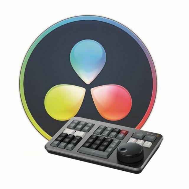Blackmagic Design DaVinci Resolve Studio (Dongle) w/ Free Speed Editor