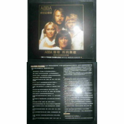 ABBA - The Definitive Collection Taiwan 2CD (2003) sealed w/slipcase +booklet