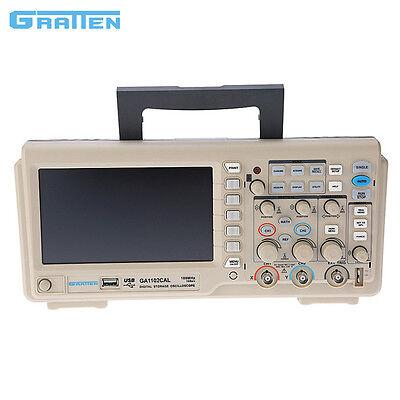 Ratten Ga1102cal 2-channel Digital Storage Oscilloscope 100mhz 1gmsas
