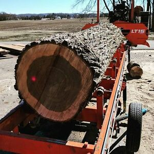 Custom Portable Sawmill Service. Great Rates, Quality Sawmilling