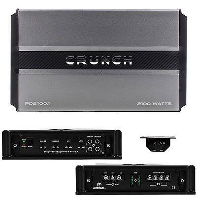 Crunch PD 4000.4 Watt Pro Power Power Drive 4 Channel Class AB Car Amplifier Amp
