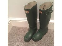 Hunter Wellies - UK4 EU37 - Hunter Green