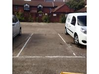 Parking Space in Private Car Park in Epsom. Rent; £50 per month