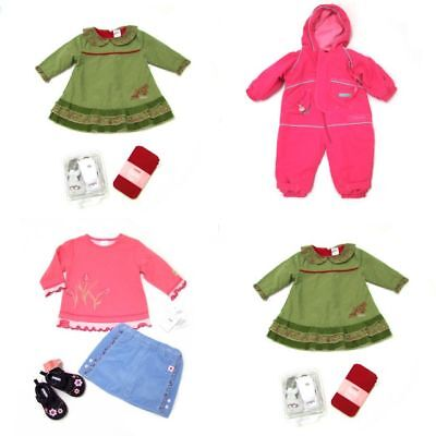 NWT 9pc GYMBOREE KUSHIES BABY Lot of Girl Newborn Clothes Outfits Set 3-6 months ()