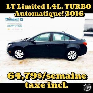 2016 CHEVROLET CRUZE LIMITED LT TURBO AUTOMATIQUE