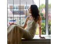Hire or buy luxury wedding/evening dresses