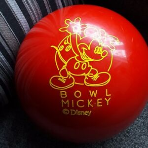 Brunswick BOWL MICKEY Disney Bowling Ball - 11 lbs.