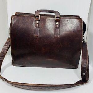 WILSON - malette en cuir / leather briefcase - men