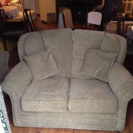 2 seater settee and matching armchair
