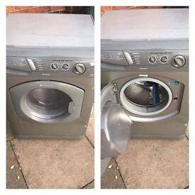 2 washing machine, 1 dryer and 1 gas cooker
