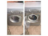 2 washing machine, dryer and gas cooker