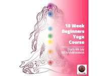 10 Week Beginner Yoga Course