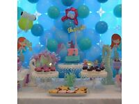 Kids Party decoration, Balloon decoration, sweet table decor