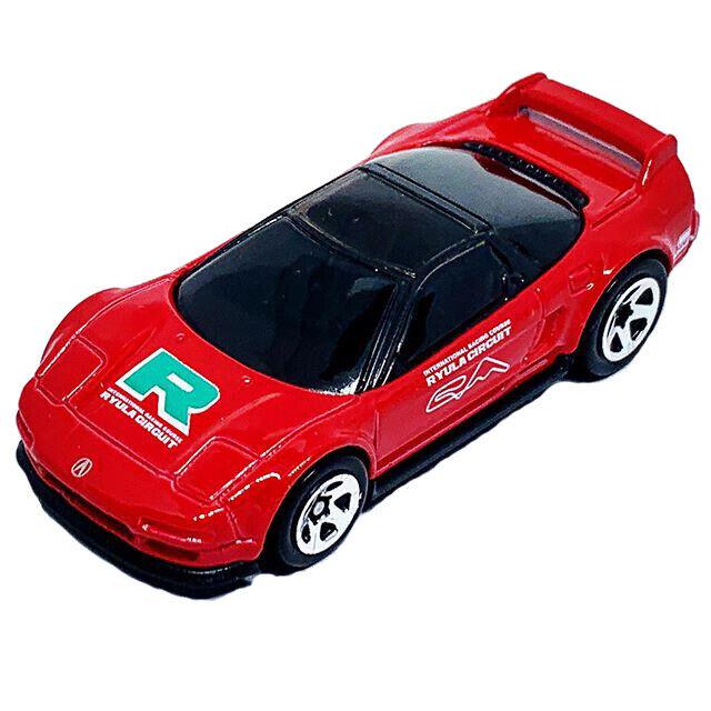 1:64 Mattel Hot Wheels Red Honda 1990 Acura NSX Kids Toy