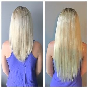 Hot Fusion, Micro Link and Tape In Hair Extensions.