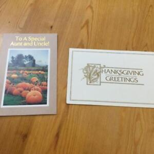 Thanksgiving Day Cards  (NEW)