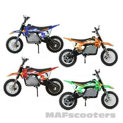 The New Electric Dirt Bike  MAF MAX 1000 watt motor 36 volt 2 speed
