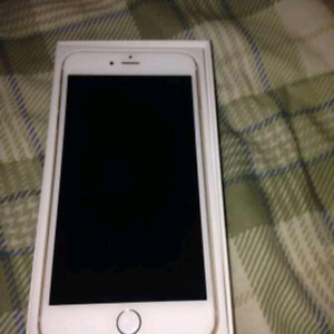 In excellent condition factory unlocked iphone 6 16gb