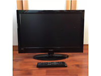 Kogan HD TV 24inch with built-in DVD Player.