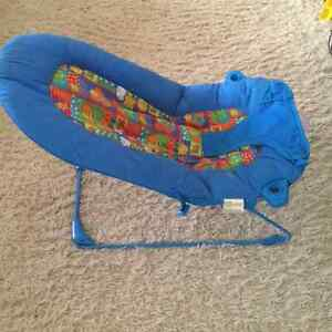 Bouncy Seat with soothing massager.