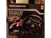 Thrustmaster Ferrari GT Experience Racing Wheel 3 In 1 For PC/PS3/PS4