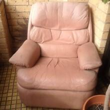 Leather recliner armchair - very comfy, good nick, FREE Kensington Eastern Suburbs Preview